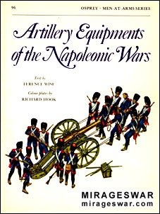 Osprey Men-at-Arms 96 -Artillery Equipments of the Napoleonic Wars