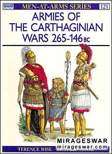 Osprey Men-at-Arms 121 - Armies of the Carthaginian Wars 265–146 BC