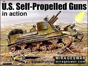 Squadron Signal - Armor In Action 2038 - U.S. Self Propelled Guns