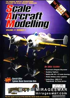 Scale Aircraft Modelling Vol.21 Num.5 1999