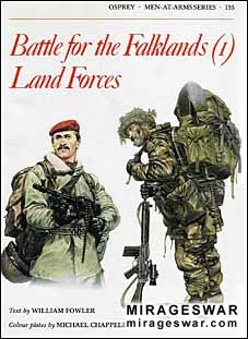 Osprey Men-at-Arms 133 - Battle for the Falklands (1) Land Forces