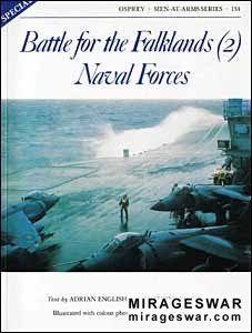 Osprey Men-at-Arms 134 - Battle for the Falklands (2) Naval Forces