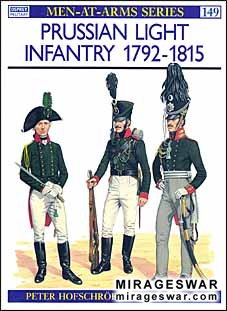 Osprey Men-at-Arms 149 - Prussian Light Infantry 1792–1815