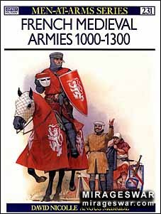Osprey Men-at-Arms 231 - French Medieval Armies 1000–1300