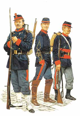 Osprey Men-at-Arms 237 - French Army 1870–71 Franco-Prussian War (2)