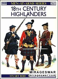 Osprey Men-at-Arms 261 - 18th-Century Highlanders
