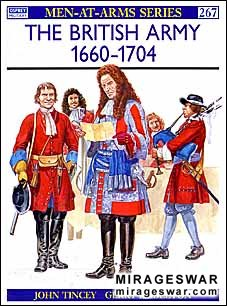 Osprey Men-at-Arms 267 - The British Army 1660–1704