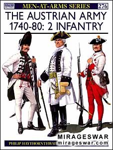 Osprey Men-at-Arms 276 - The Austrian Army 1740–80 (2)