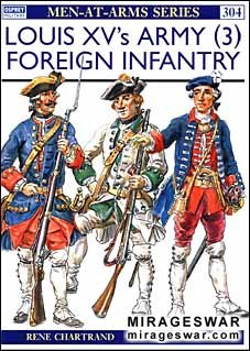 Osprey Men-at-Arms 304 - Louis XV's Army (3)