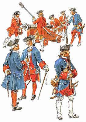 Osprey Men-at-Arms 313 - Louis XV's Army (5)
