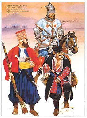 Osprey Men-at-Arms 314 - Armies of the Ottoman Empire 1775–1820