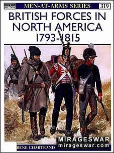 Osprey Men-at-Arms 319 - British Forces in North America 1793–1815