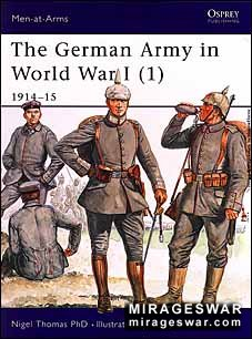 Osprey Men-at-Arms 394 - The German Army in World War I (1)
