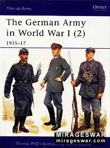 Osprey Men-at-Arms 407 - The German Army in World War I (2)