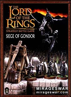 The Lord Of The Rings (Games Workshop) Strategy Battle Game Siege of Gondor
