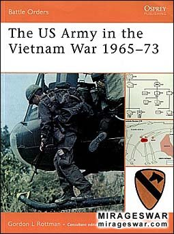 Osprey Battle Orders 33 - The US Army in the Vietnam War 1965-73