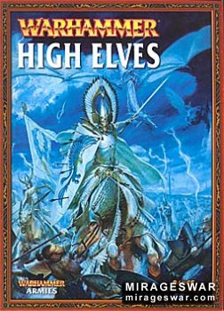Warhammer Army Book - (Games Workshop) -  High Elves