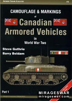 Camouflage & Markings of Canadian Armored Vehicles in World War Two (part 1) Armor Color Gallery № 4