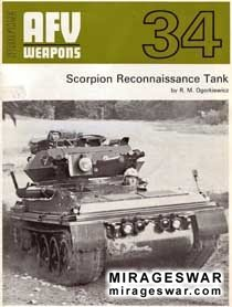 AFV Weapons Profile 34 - Scorpion Reconnaissance Tank