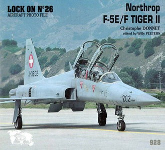 AG26 - Northtrop F-5E-F Tiger II - Lock On Series (Verlinden Publications )