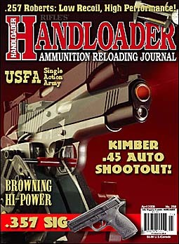 Handloader Journal № 259 - April 2009