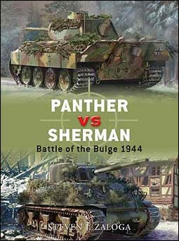 Osprey Duel 13  - Panther vs Sherman: Battle of the Bulge 1944