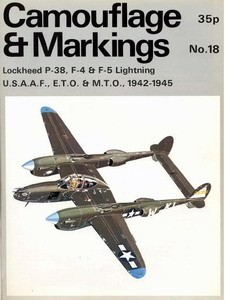 P-38, F-4 & F-5 Lightning - Camouflage and Markings 18