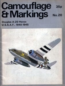 Douglas A-20 Havoc - Camouflage and Markings 20