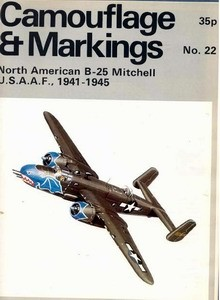 North American B-25 Mitchell - Camouflage and Markings 22