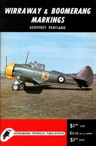 Wirraway and Boomerang Markings - Kookaburra 3-02