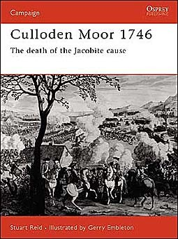 Osprey Campaign 106 - Culloden Moor 1746: The death of the Jacobite cause