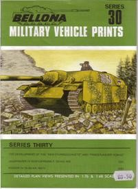 Bellona Military Vehicle Prints 30 - Panzers