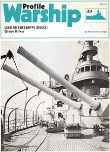 USS Mississippi (BB23) - Warship Profile 039