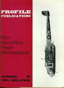 Handley Page Hampden  [Aircraft Profile 58]