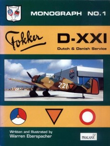 Fokker D-XXI Dutch & Danish Service [Monograph No.1]