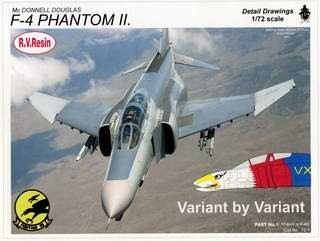 McDonnell Douglas F-4 Phantom II. Variant by Variant. Part 1 [Detail Drawings]