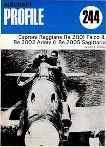 Reggiane Re.2001 Falco II Re.2002 & Re.2005 [Aircraft Profile 244]