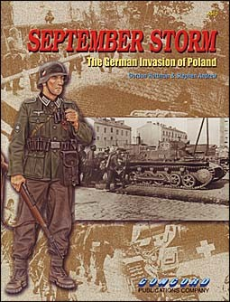 Concord 6510 - September Storm. The German invasion of Poland