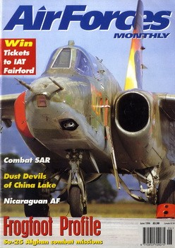 Air Forces Monthly №6  1996