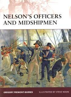 Osprey Warrior 131 - Nelsons Officers and Midshipmen