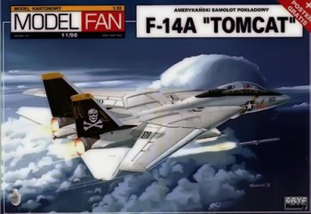"Истребитель F-14A ""Tomcat"" (Model Fan №11/98)"