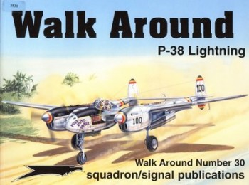 Squadron/Signal  - P38 Lightning (Walk Around 5530)