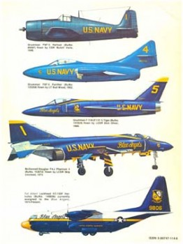 A pictorial History of the Blue Angels 1928-1981 [Squadron Signal 6030]