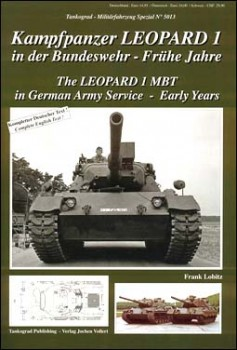 Tankograd 5013 - Leopard I MBT in German Army service - Early Years