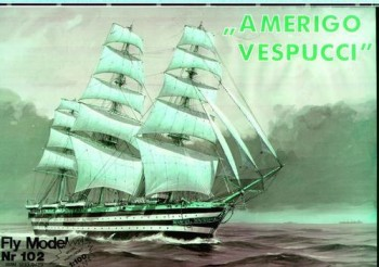 Fly Model № 102 - Sailing Ship Amerigo Vespucci