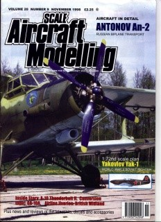 Scale Aircraft Modelling Vol.20 Num.9 1998