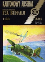 F2A Buffalo - Halinski Kartonowy Arsenal (2`1994)