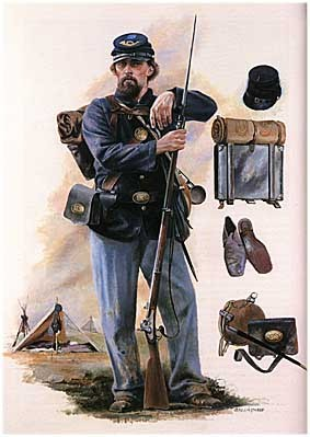 American Civil War. Union Army [Brassey's History of Uniforms]