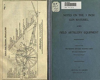Notes on the 3 inch gun materiel and field artillery equipment - 1917
