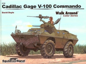 Cadillac Gage V-100 Commando - Armor Walk Around Color Series 5708